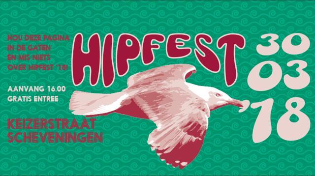 Eerste namen HipFest 2018 bekend