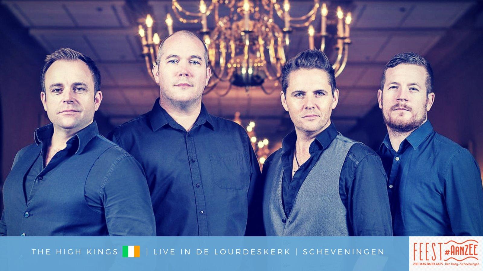 Tickets voor The High Kings (IRL) op Scheveningen