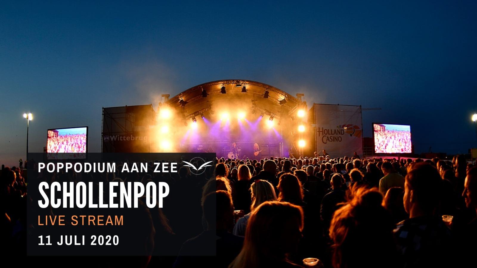 Poppodium Aan Zee presenteert: Livestream Schollenpop Festival